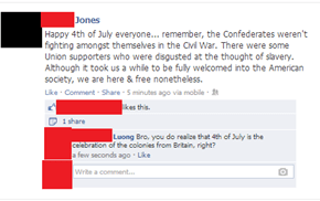 Oh so that's what Independence Day is about