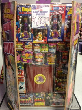 "The ""Grounds for Divorce"" Fireworks Collection"