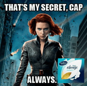 Black Widow likes to mention...