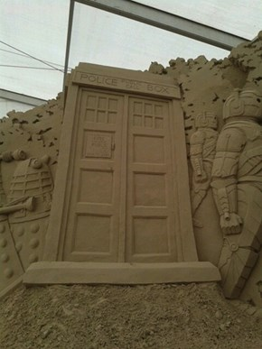 The Sandy TARDIS