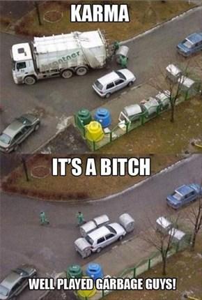 Your Parking Job Stinks!