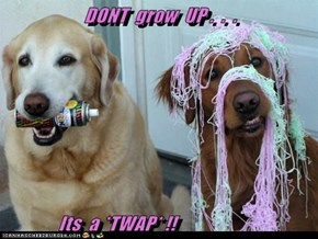 DONT  grow  UP .  .  .                Its  a *TWAP* !!