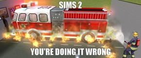 You know you're bad at Sims 2 when...
