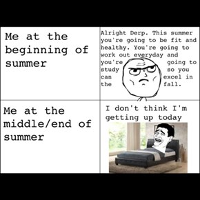 My Attitude In Summer