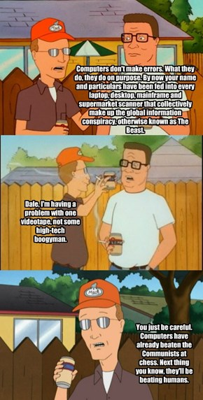 Dale Gribble Weighs In On Government Spying