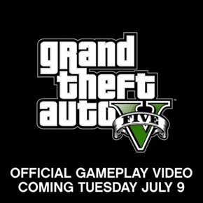 Grand Theft Auto V Gameplay Tomorrow!