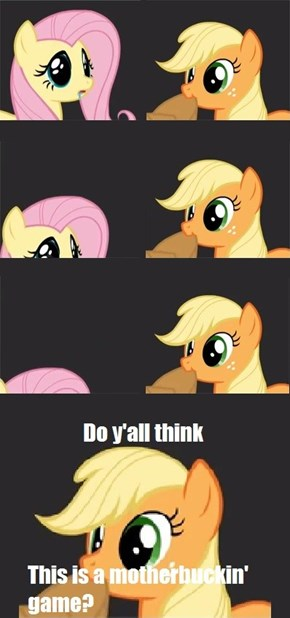 Well-- Do ya, flutters?!
