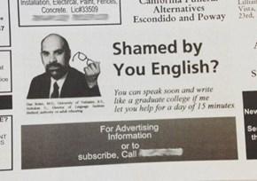 We am the Best of English Languages Instruction
