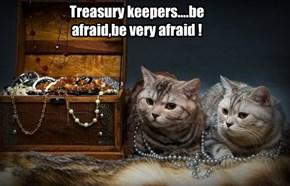 Treasury keepers....be afraid,be very afraid !