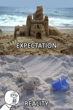 Sand Castles Never Work Out
