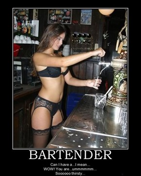 Know How to Hit on Bartenders