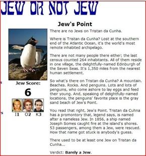 Jew's Point
