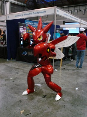 Scizor Used Amazing Cosplay. It's Super Effective!