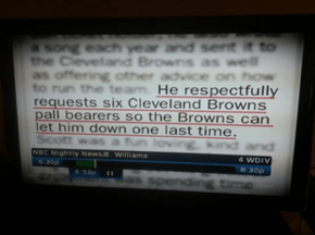 The Obituary of a Cleveland Browns Fan