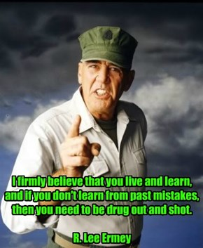 Gunny has a point