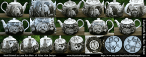 Labyrinth Tea Set