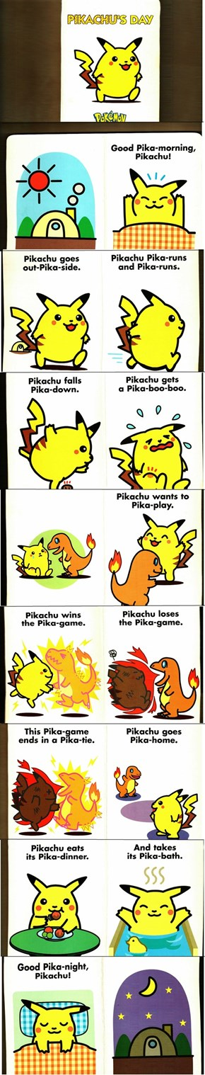 How was your Pika-day?