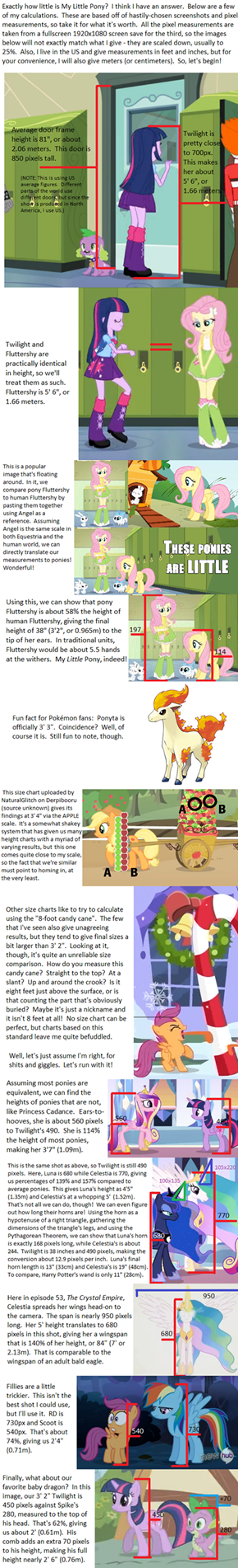 Pony Math for My LITTLE Ponies