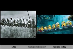 1929 Totally Looks Like minions today