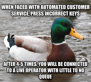 How to Always Reach a Real Person When You Get Automated Customer Service