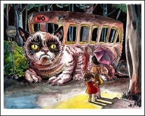 Grumpy Catbus Is Out of Service... Permanently