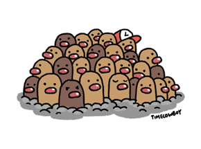 Diglett Wednesday: We Need Mega Dugtrio