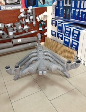 The Problem? The Pipes WEREN'T Arranged in the Shape of a Scorpion!