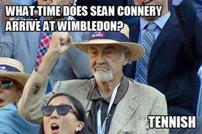 Sean Connery Arrives Whenever He Wants