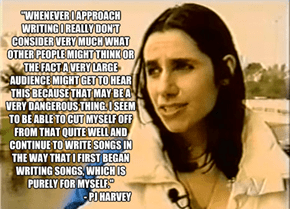 An Interesting Take on Music from the Mind of PJ Harvey