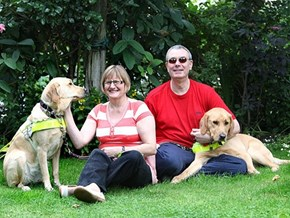 Couple Find Forever Love Thanks to Seeing-Eye Dogs
