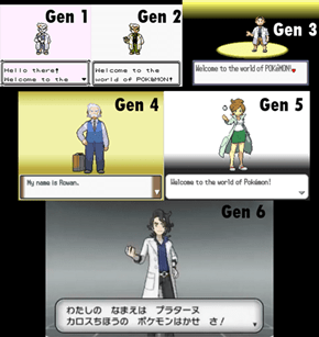 Welcome to the World of Pokemon!