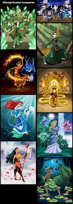 Disney Avatar Princess Crossover