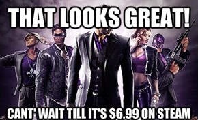 Everytime I See Something About Saints Row IV...