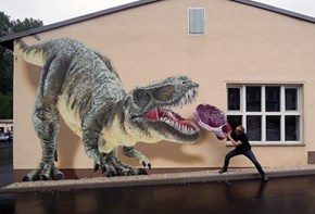 TASSO Makes Some Prehistoric Street Art