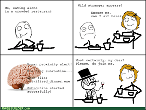 Sometimes the Brain Does Good