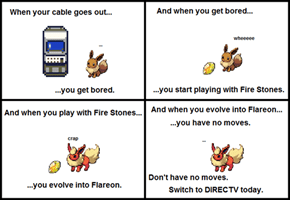 Don't be like Flareon.