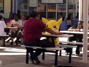 Pikachu is Having a Nice Date