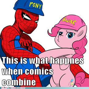 This is what happnes when comics combine