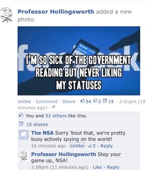 Stupid NSA!