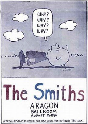 Charlie Brown Comics and The Smiths Lyrics Work Perfectly Together