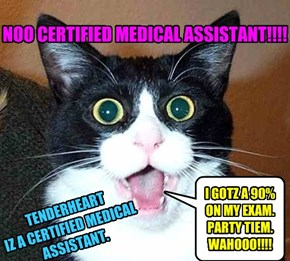 NOO CERTIFIED MEDICAL ASSISTANT!!!!