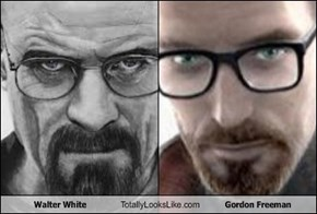 Walter White Totally Looks Like Gordon Freeman