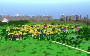 Ponyville: Minecraft Style!