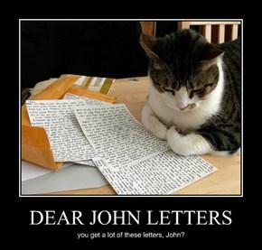 DEAR JOHN LETTERS