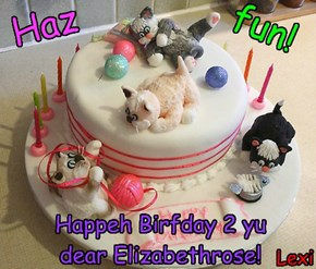 Happeh Birfday 2 yu dear Elizabethrose!