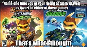 Forever Alone Qwark