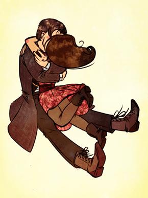 A Wibbly Wobbly Kiss