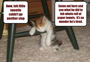 Little stinker is mor like it