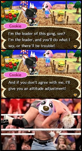 Why you don't wanna mess with Cookie.