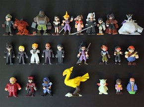 Square Enix Nixed These 3D-Printed Final Fantasy Figurines